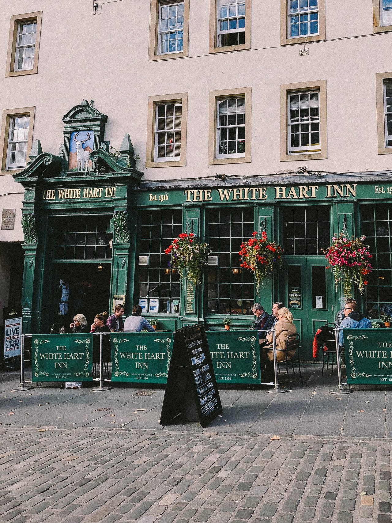 The White Hart Inn | Edinburgh Travel Guide by HonestlyYUM