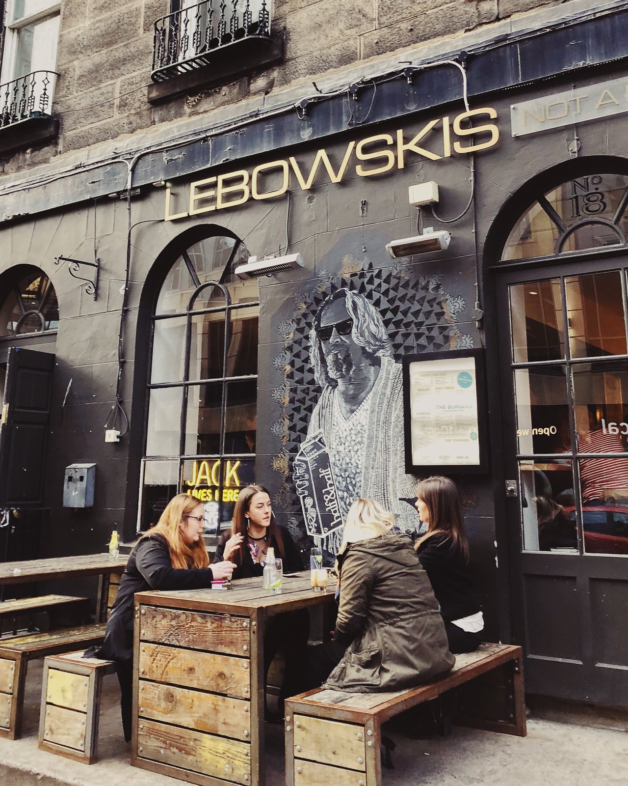 Lebowski's | Edinburgh Travel Guide by HonestlyYUM