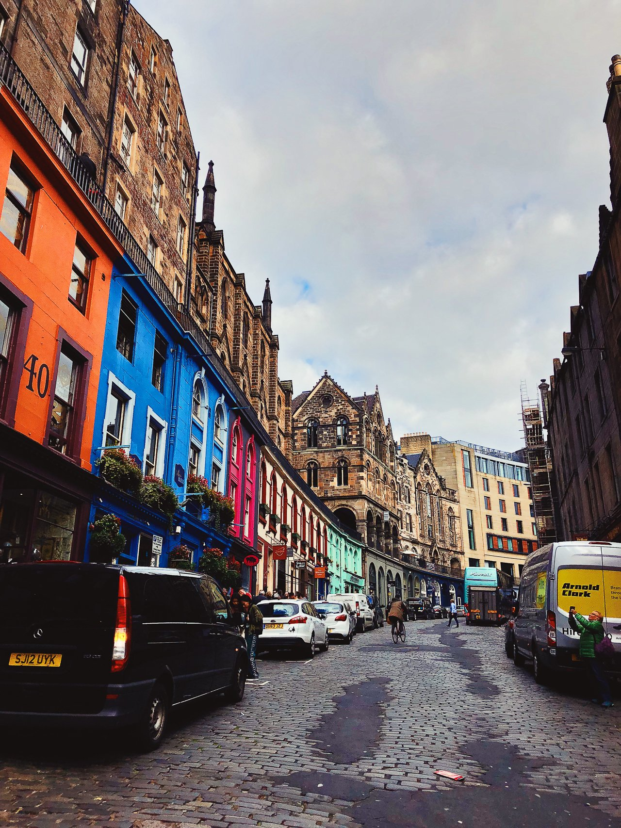 Victoria Street, Edinburgh Travel Guide by HonestlyYUM
