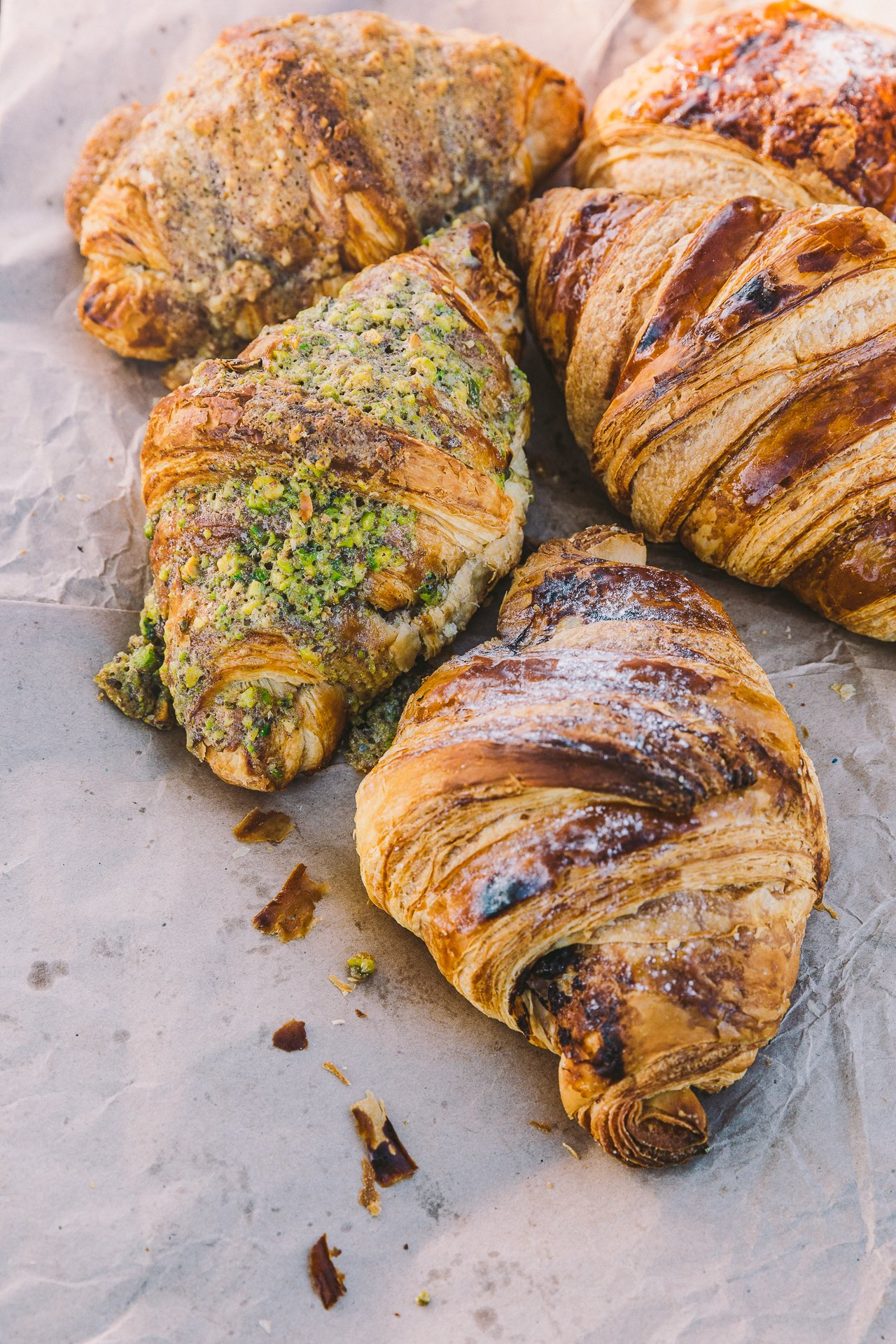 Croissants from Twelve Triangles | Edinburgh Travel Guide by HonestlyYUM