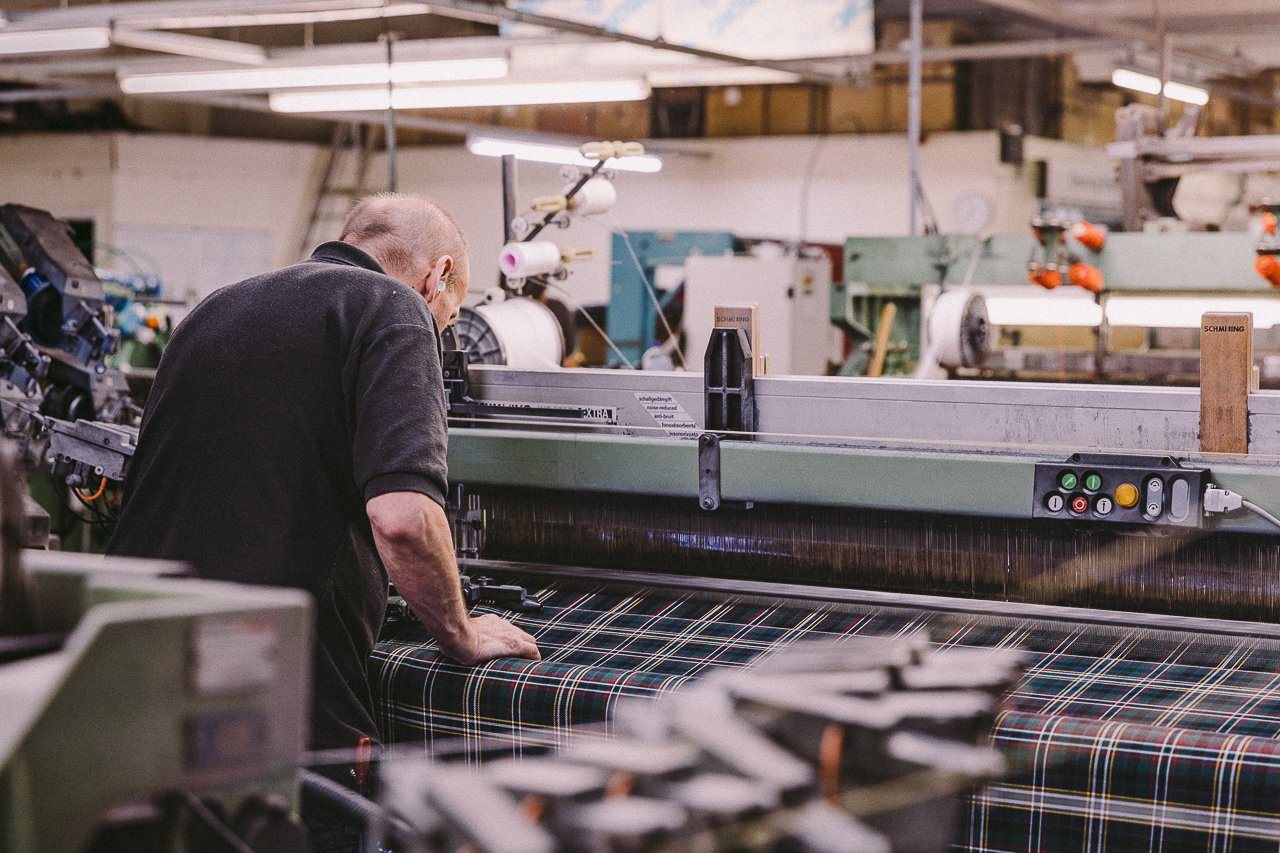 Lochcarron of Scotland Tartan Weaving Mill