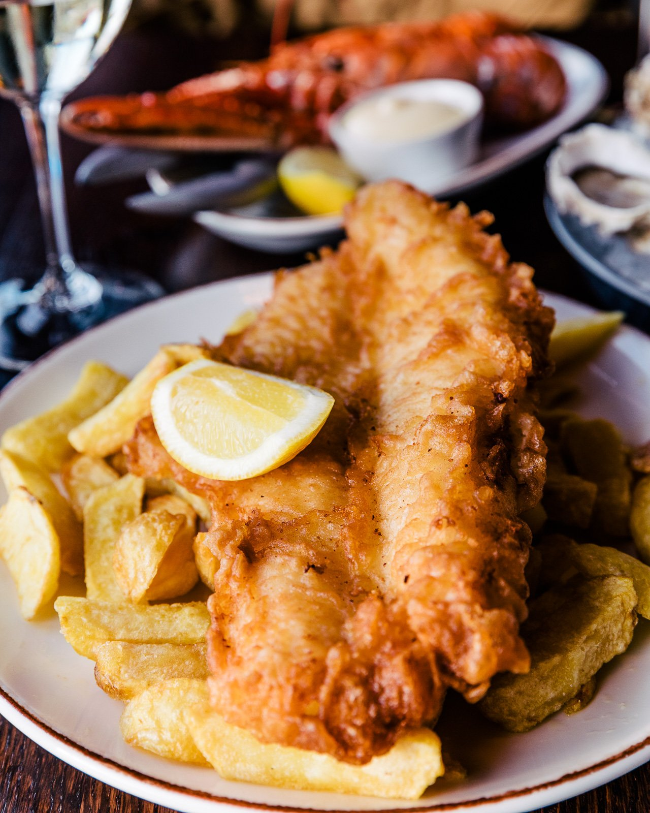 Fish & Chips from Newhaven Fish Market | Edinburgh Travel Guide by HonestlyYUM