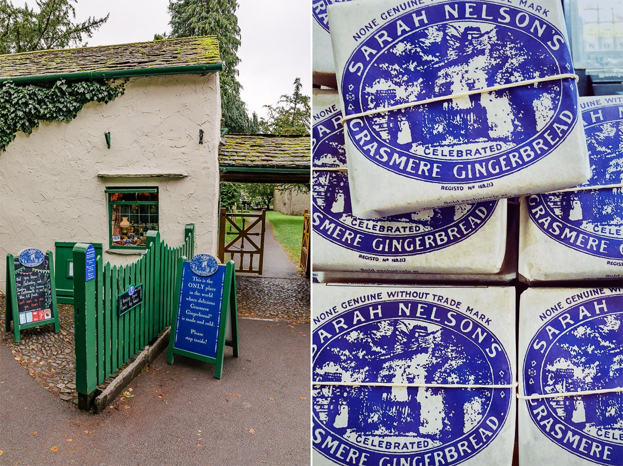 Sarah Nelson's Grasmere Gingerbread Shop, Lake District, England | Travel Guide by HonestlyYUM